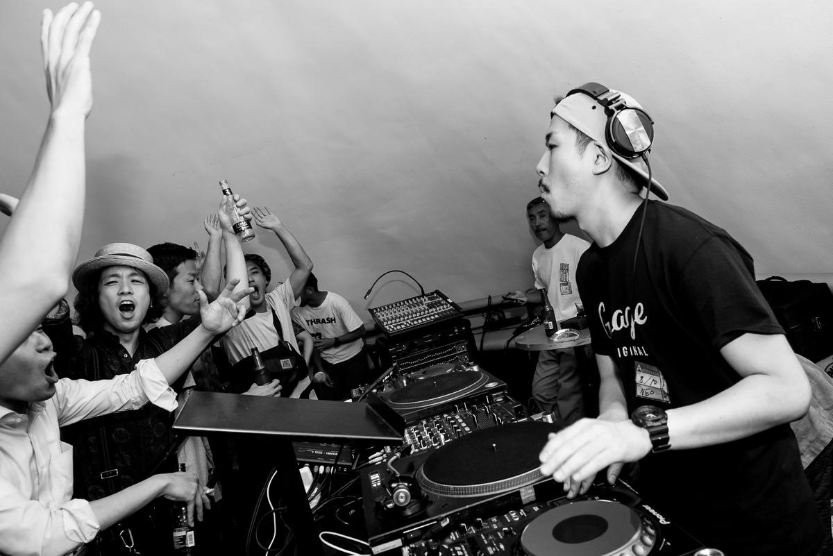 DJ LIVE MIX UP「2017.8.10 Hot Shot@渋谷Lounge Neo」