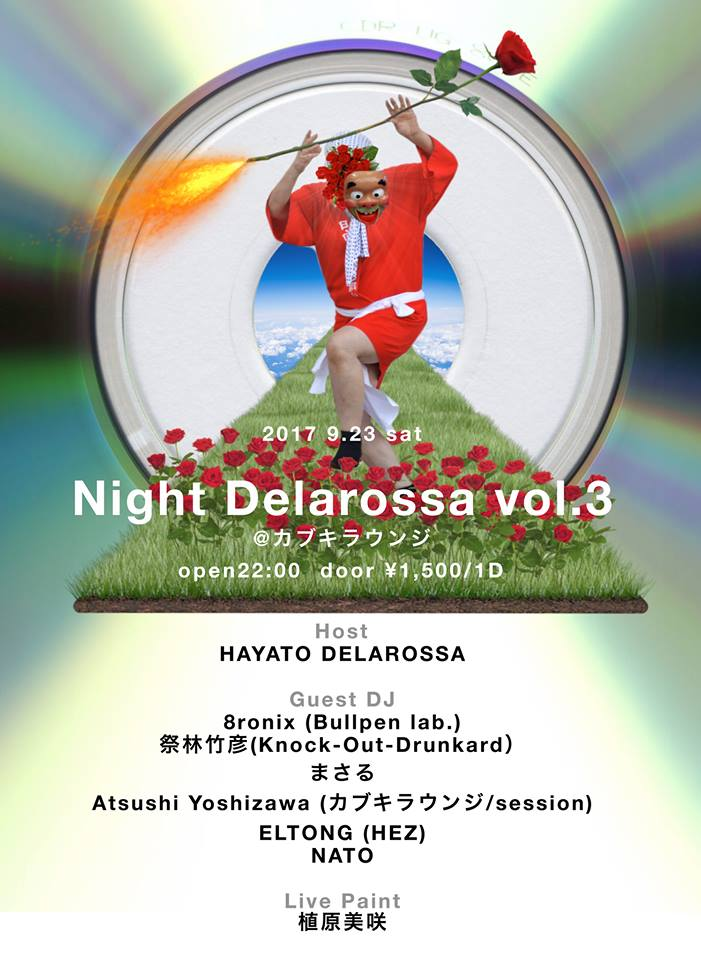 Night Delarossa Vol.3開催