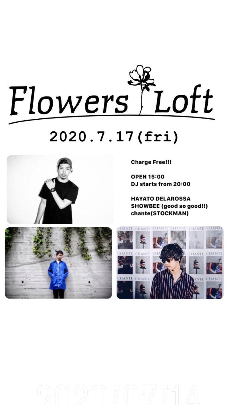 2020.7.14 @Flowers Loft ふらわーばー